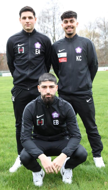 Türkiyede futbol oynamak istiyorlar