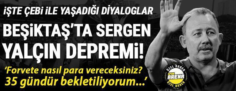 Son Dakika: Beşiktaş - Sergen Yalçın ayrılığı sonrası senaryolar Fenerbahçe, Okan Buruk, Şenol Güneş...