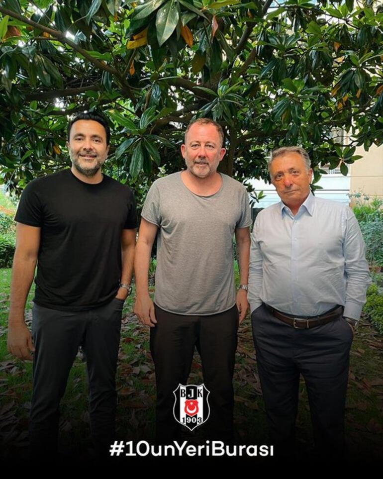 Son dakika haberi... Beşiktaş, Sergen Yalçında mutlu sona ulaştı Anlaşma resmen duyuruldu...